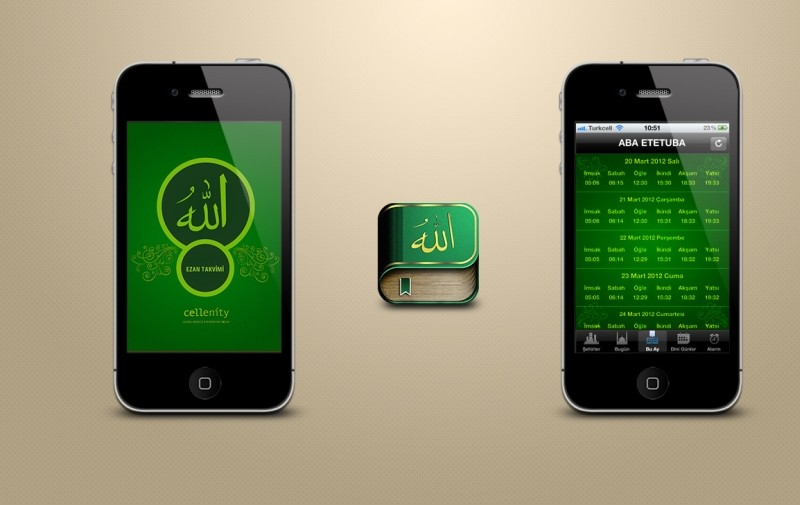 Cem akkaya prayer times iphone app ui by cemakkaya d5xmms1