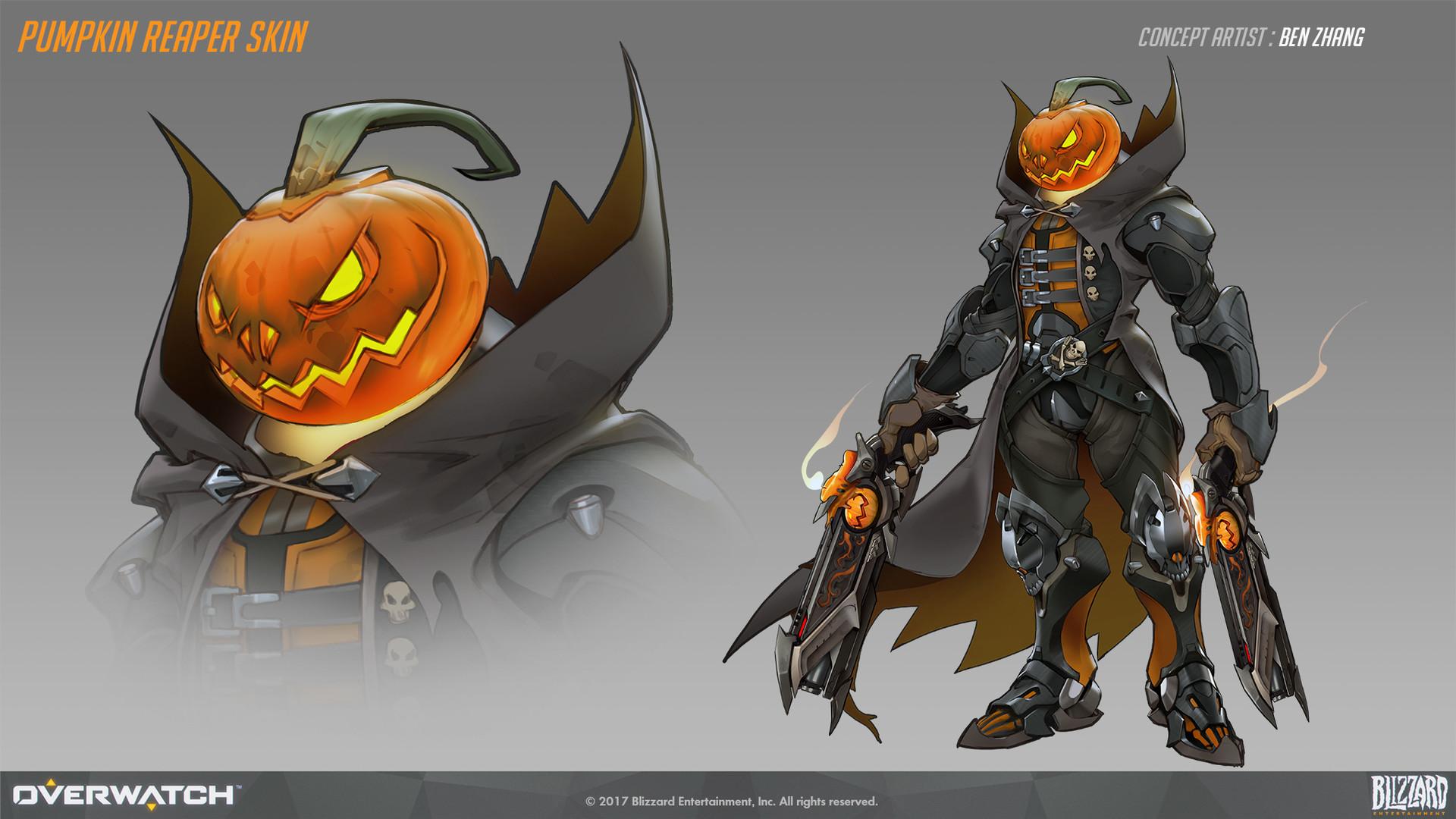 Ben zhang pumpkin reaper