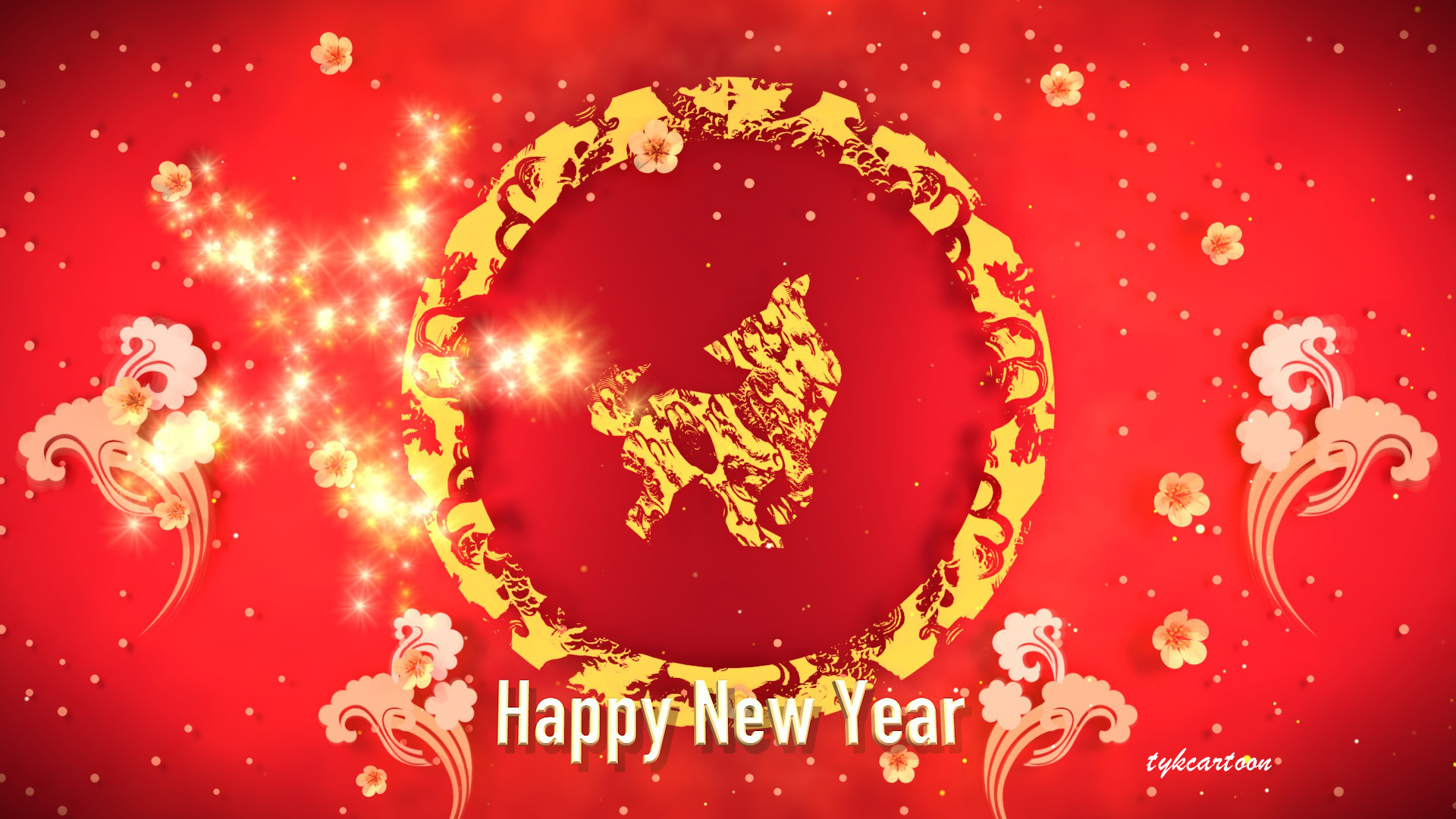 Artstation 2018 cny animated greeting card tzu yu kao 2018 year of dog animation project preview kristyandbryce Gallery