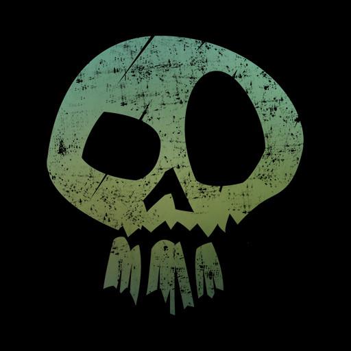Bakuss circus skull black