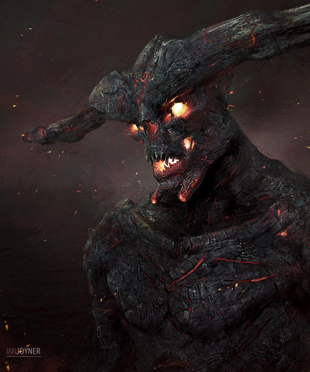 A Demon!