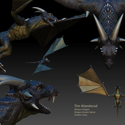 Timothy klanderud timsdragon zbrush document 01