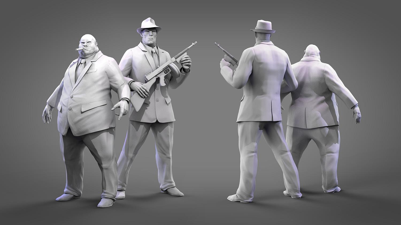 Tomislav zvonaric mafijasi 3d models