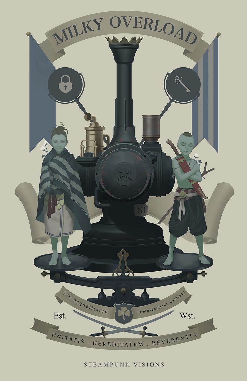 MILKY OVERLOAD | Steampunk Heritage