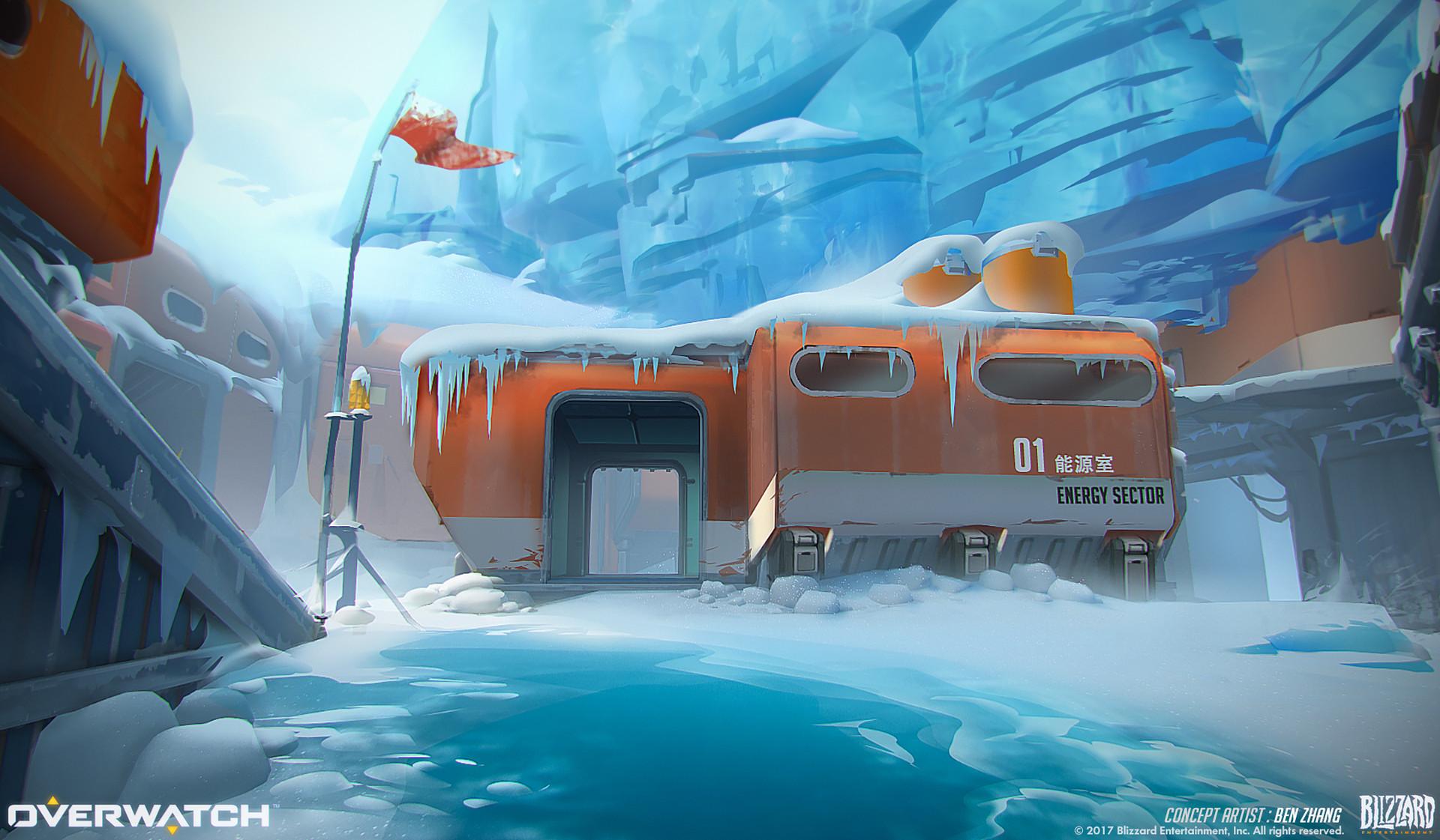 Ben zhang ecopoint antarctica concept