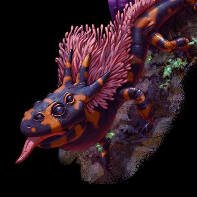 Peter sakievich fauna02 salamander01 lifecycle