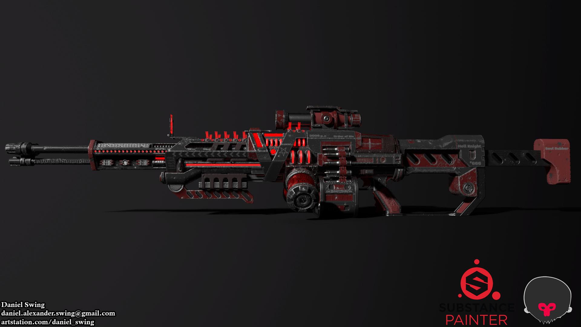 Daniel swing rifle 13