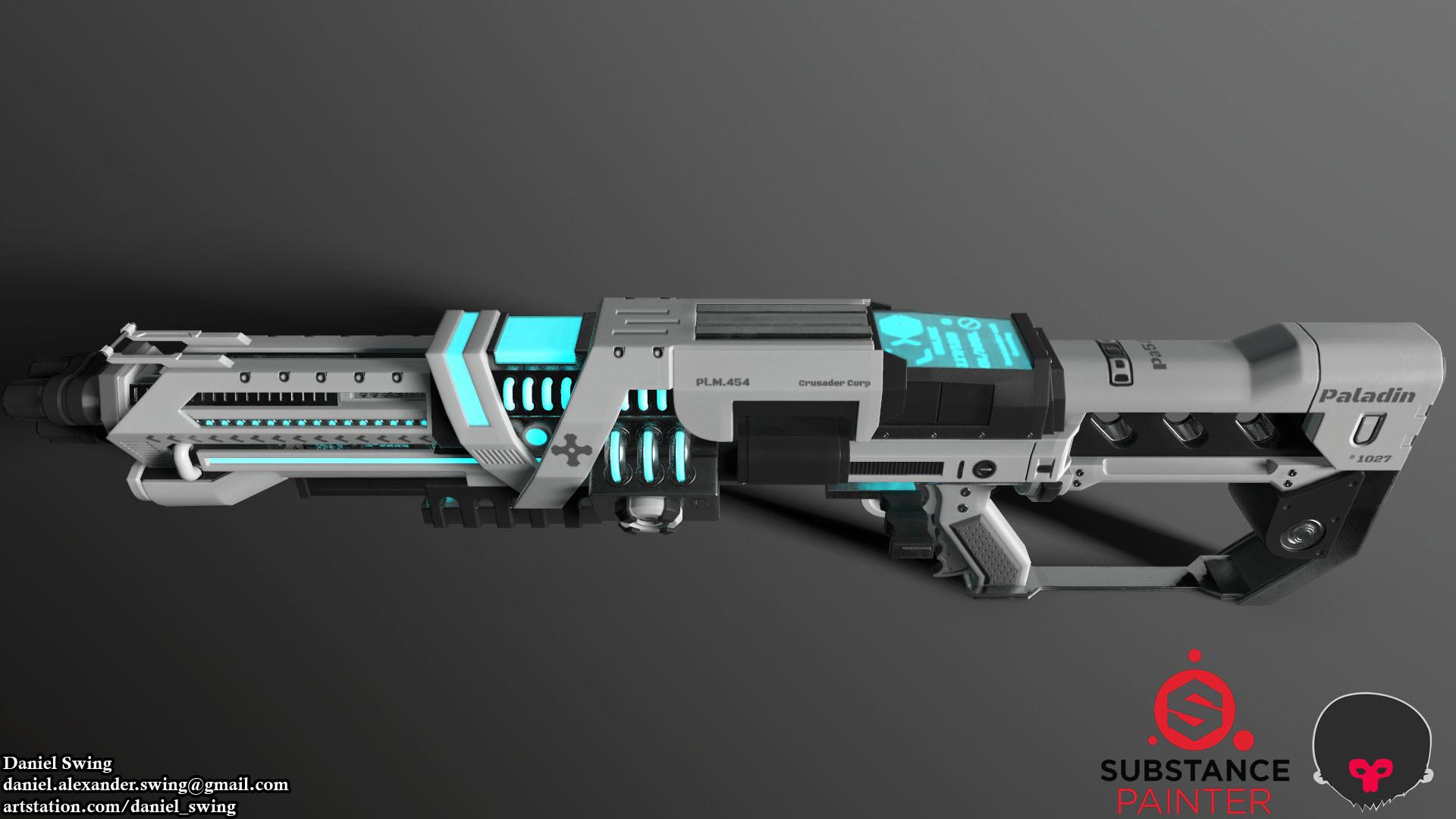 Daniel swing rifle 9