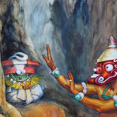 Science meets art barra honda shamaness1