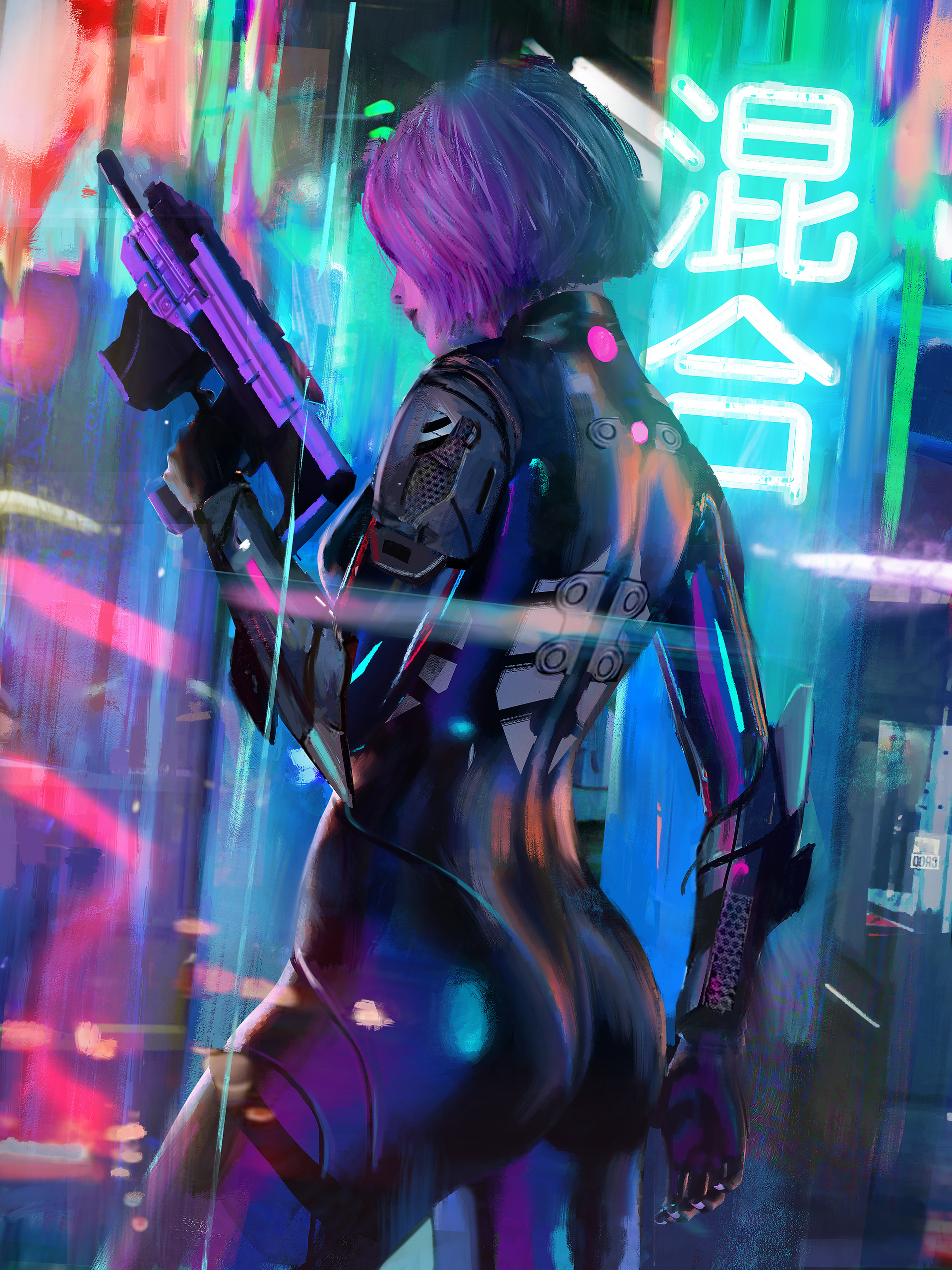 Neo-noir-inspired Conceptual Illustrations by Tony Skeor