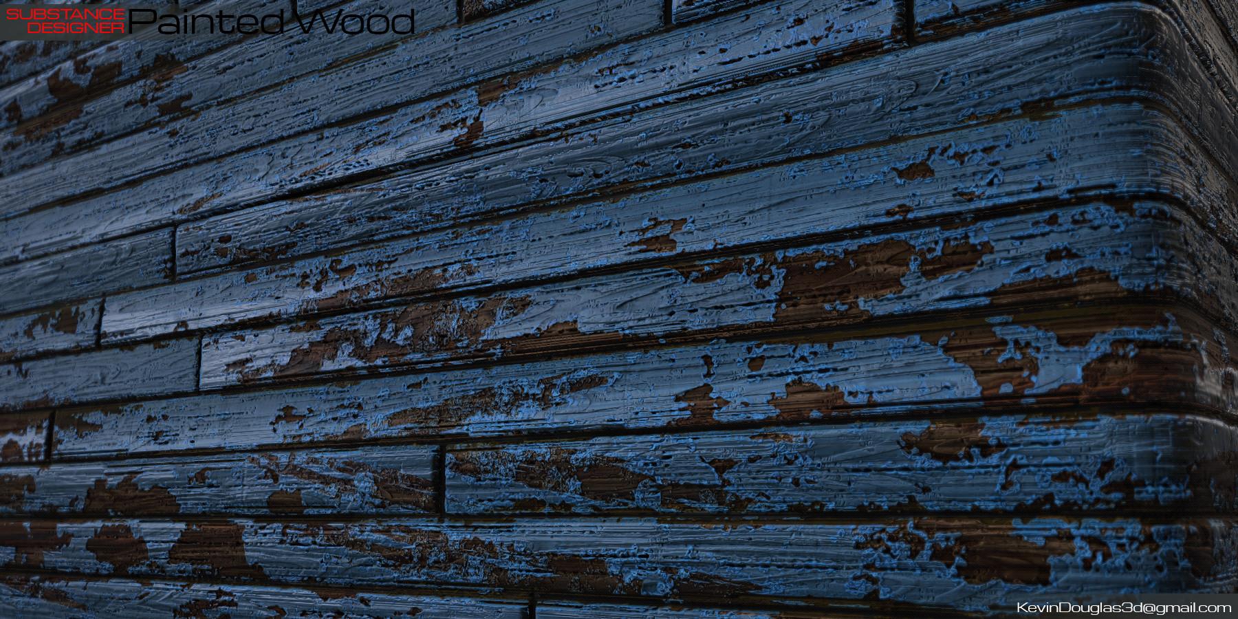 Kevin douglas painted wood beauty cu 2
