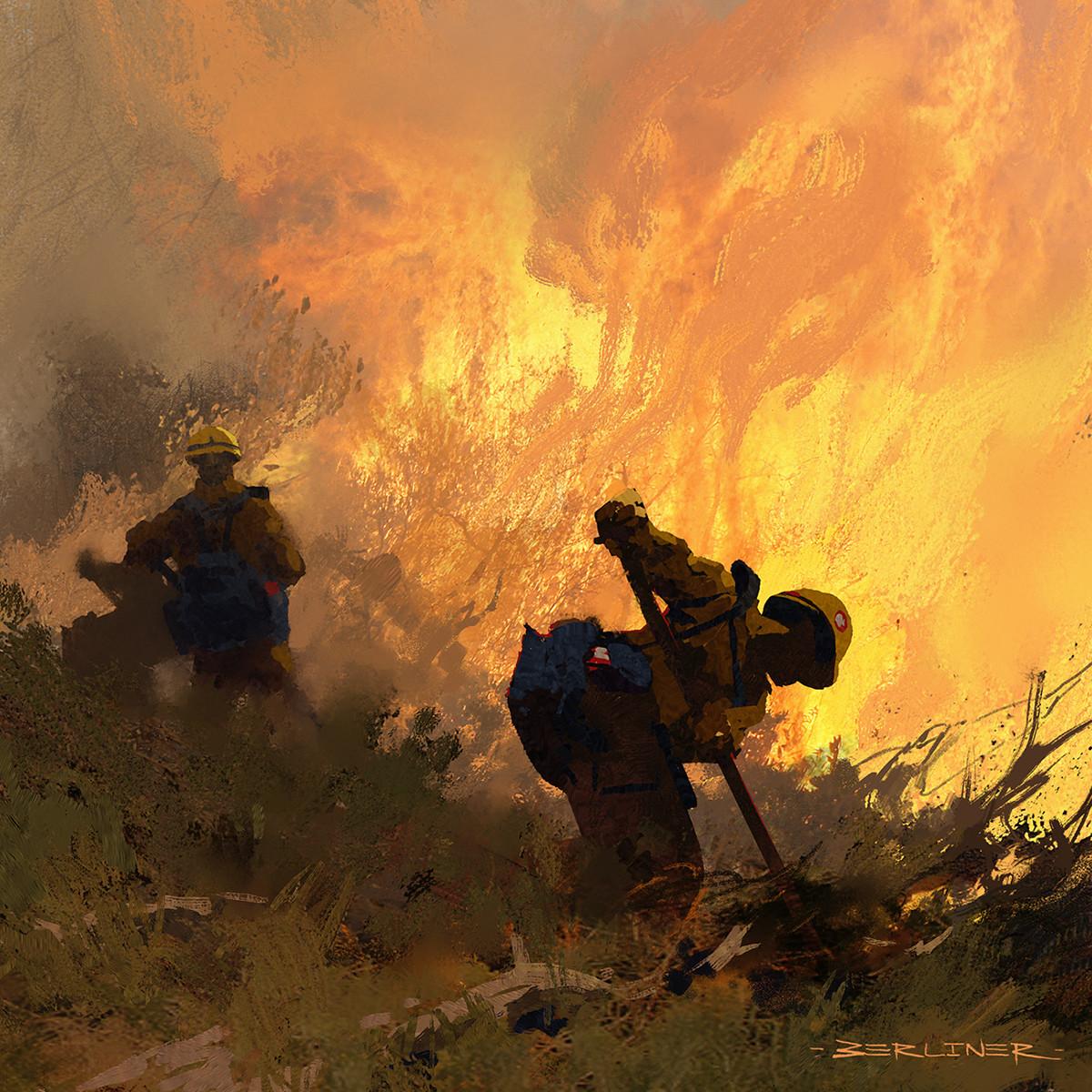 Luke berliner fire fighters insta