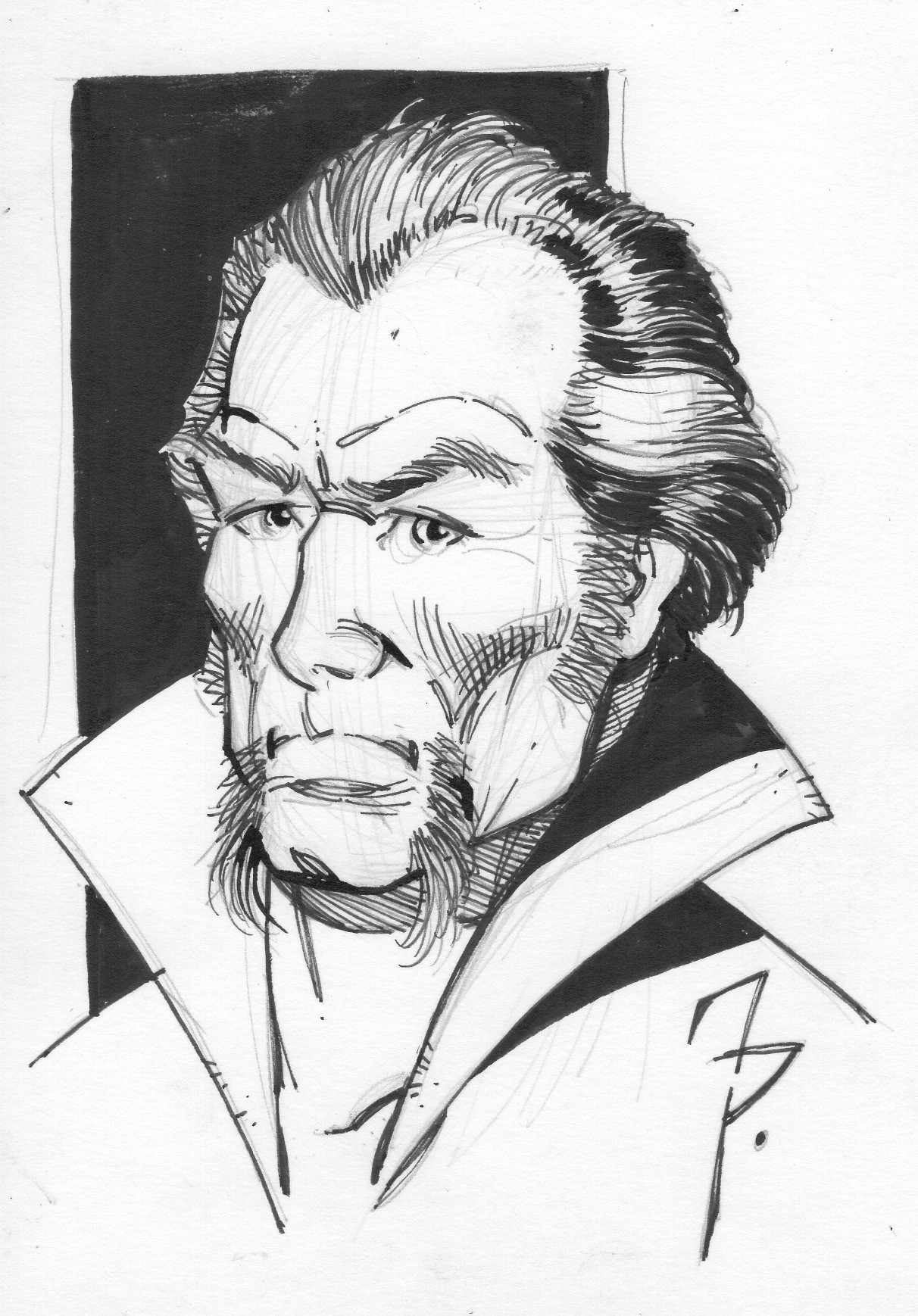 Pen and ink Was al Ghul