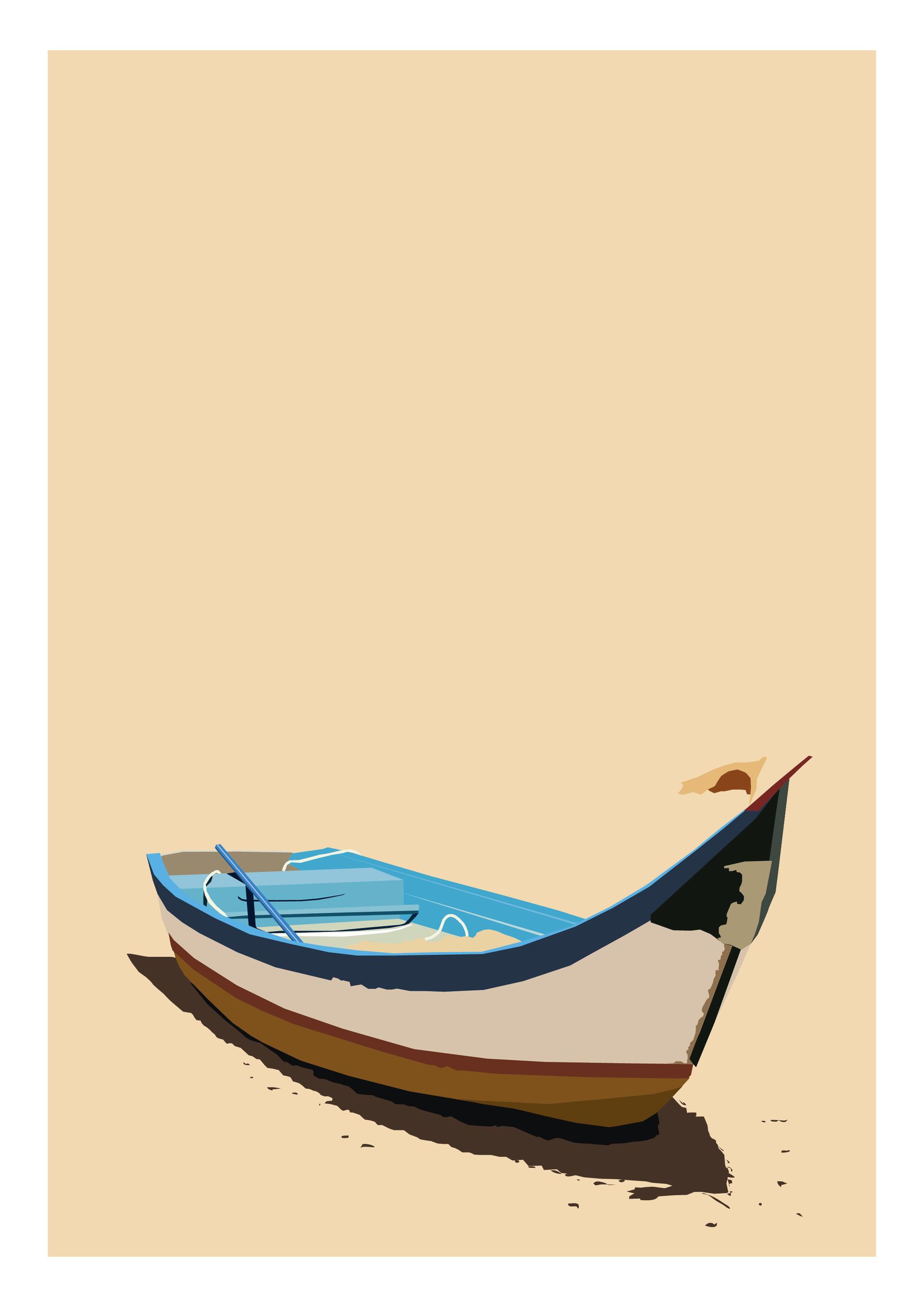 Rajesh r sawant boat on shore 01