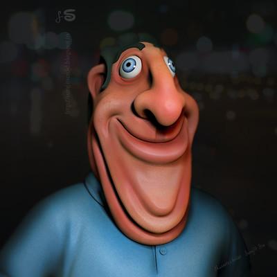 Surajit sen happy man doodle surajitsen 08122017