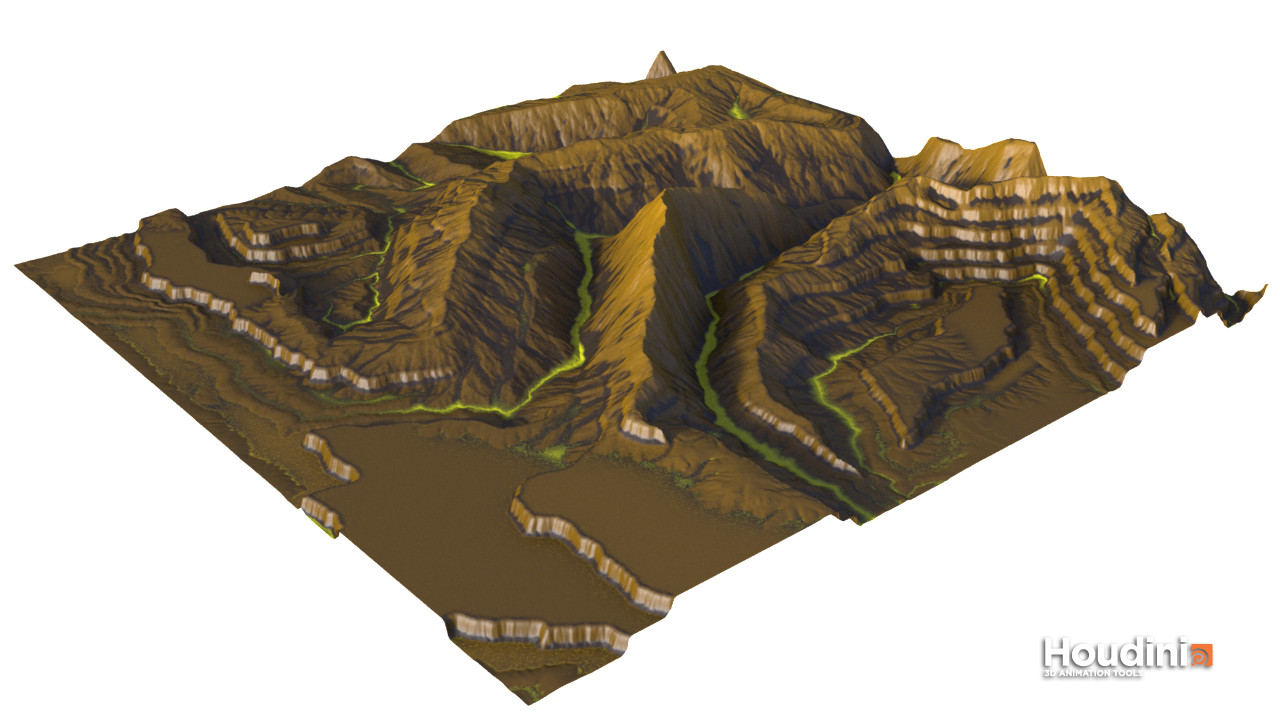 Using the new noises for larger terrain shapes (1)
