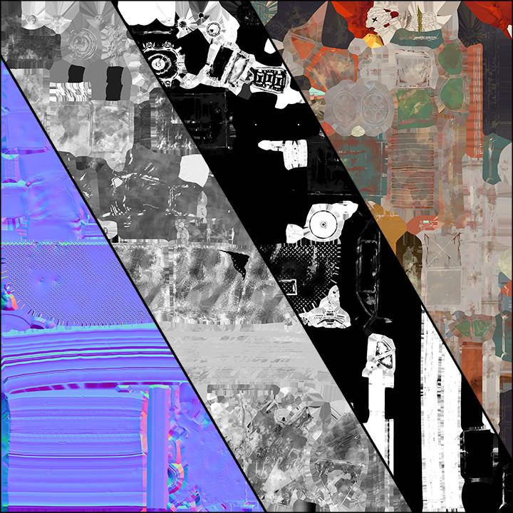 Felipe sanin texture map