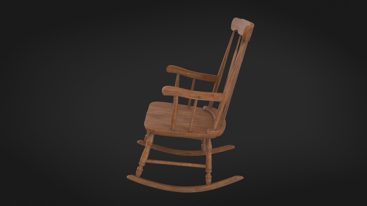 Free jenny lind adult rocking chair nude