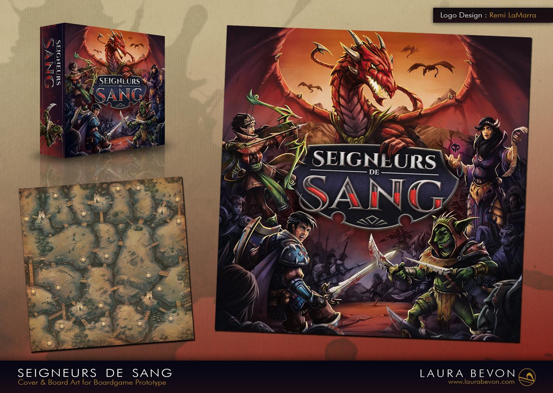 Seigneurs de Sang - Cover & Board