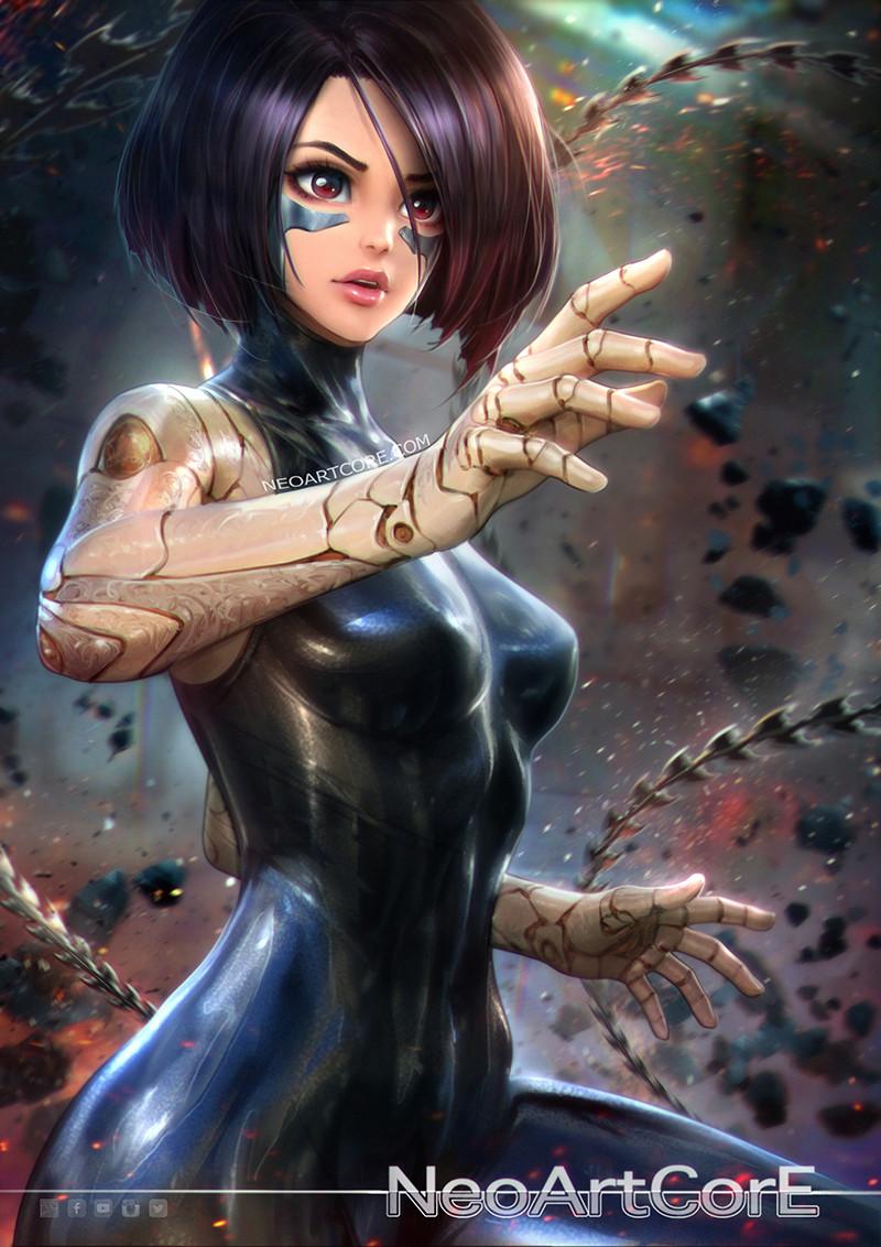 Artstation - Alita  Battle Angel, Neoartcore Thongmai-2238