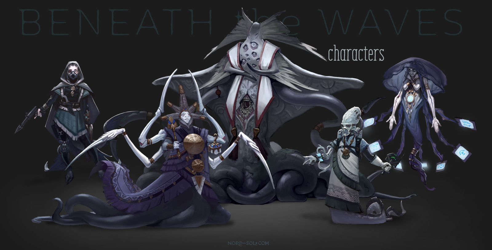 Beneath the Waves — Characters pack
