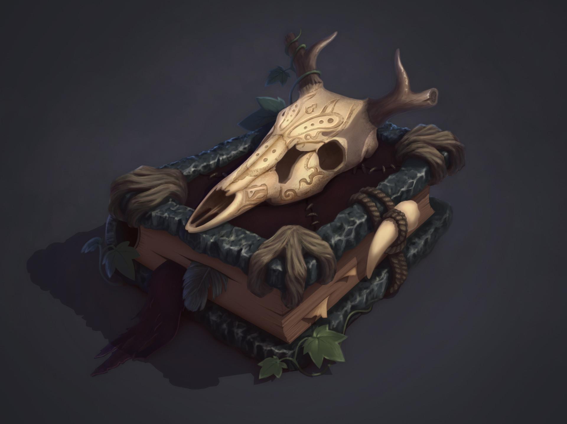 Anna Prudnikova - Bestiary (The Witcher 3 funart)