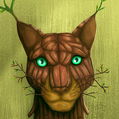 Helsic yiverus woodcat by helsic dbvhs5k