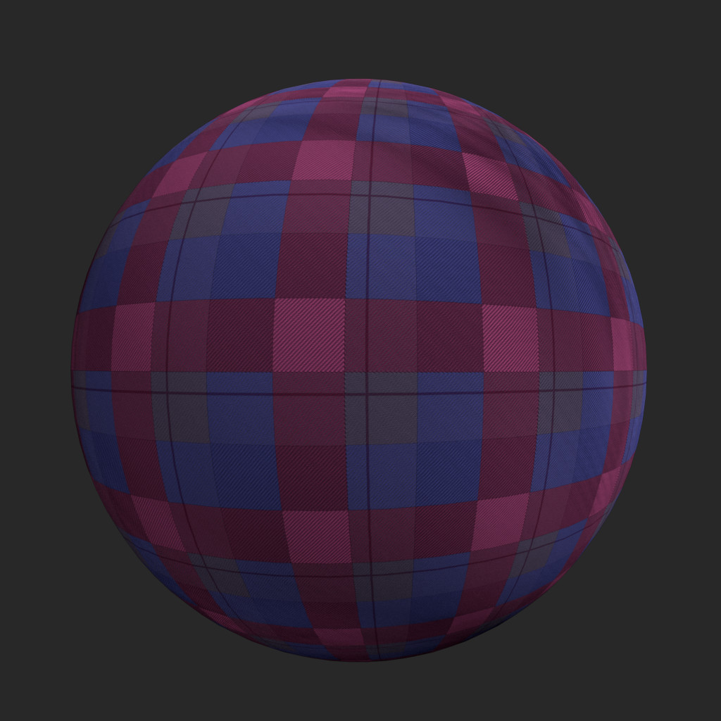 Procedural Plaid Substance