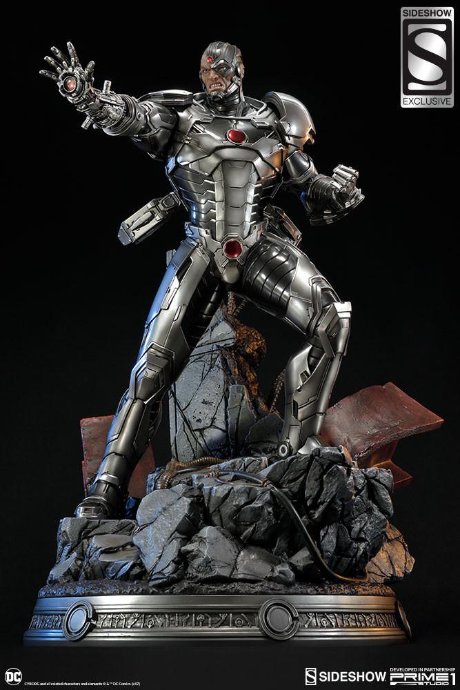 Adam fisher prime 1 studio dc cyborg statue 016