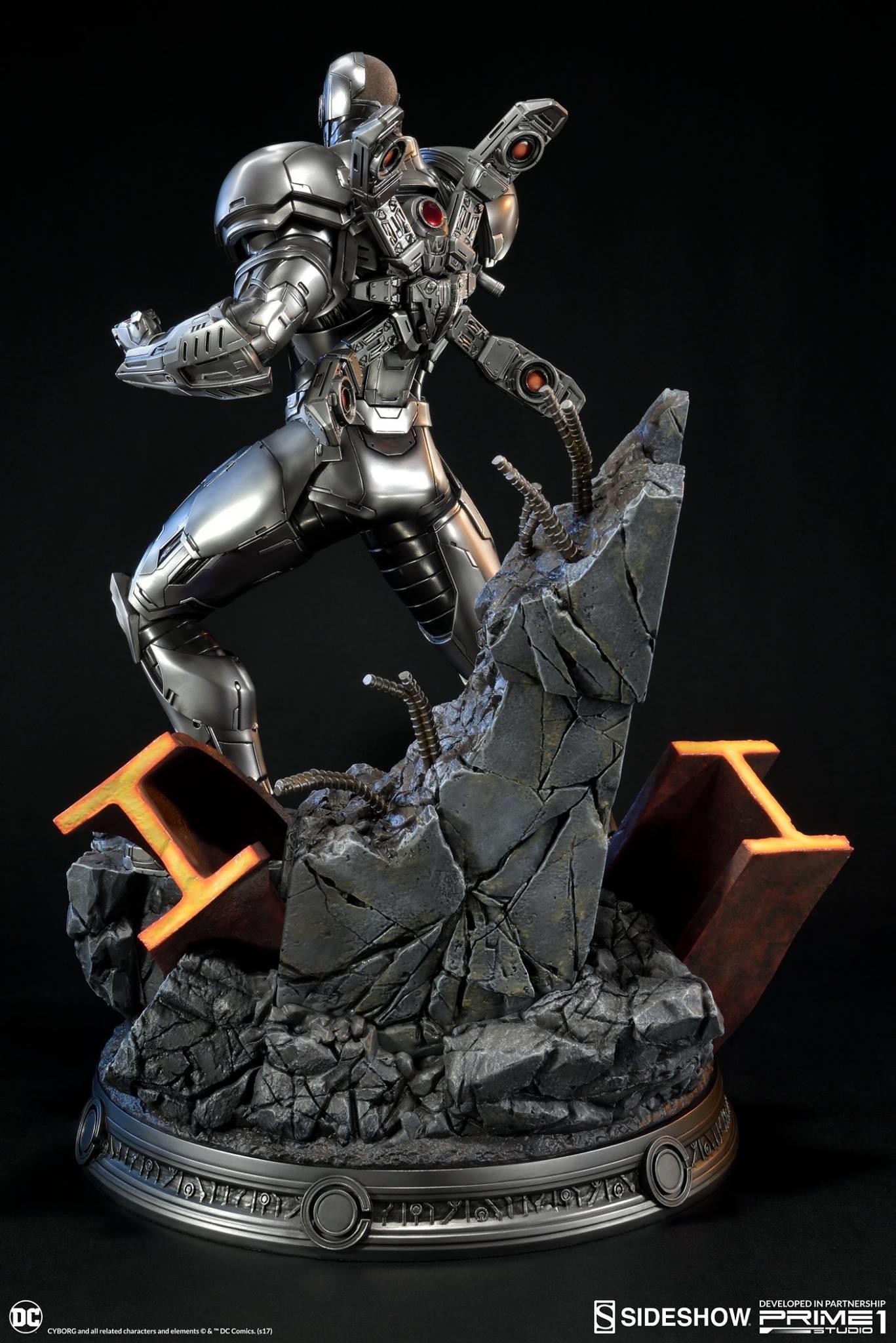 Adam fisher prime 1 studio dc cyborg statue 006