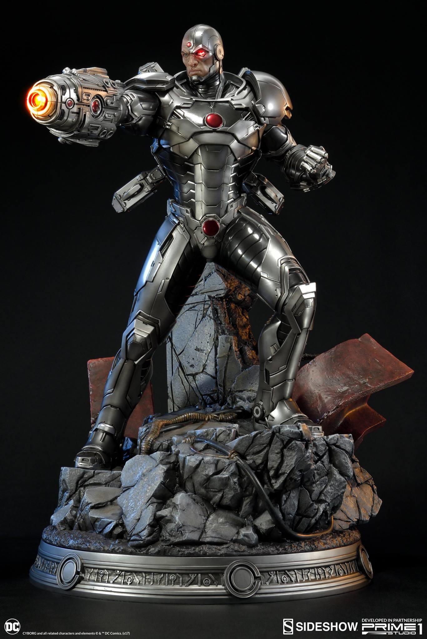 Adam fisher prime 1 studio dc cyborg statue 008