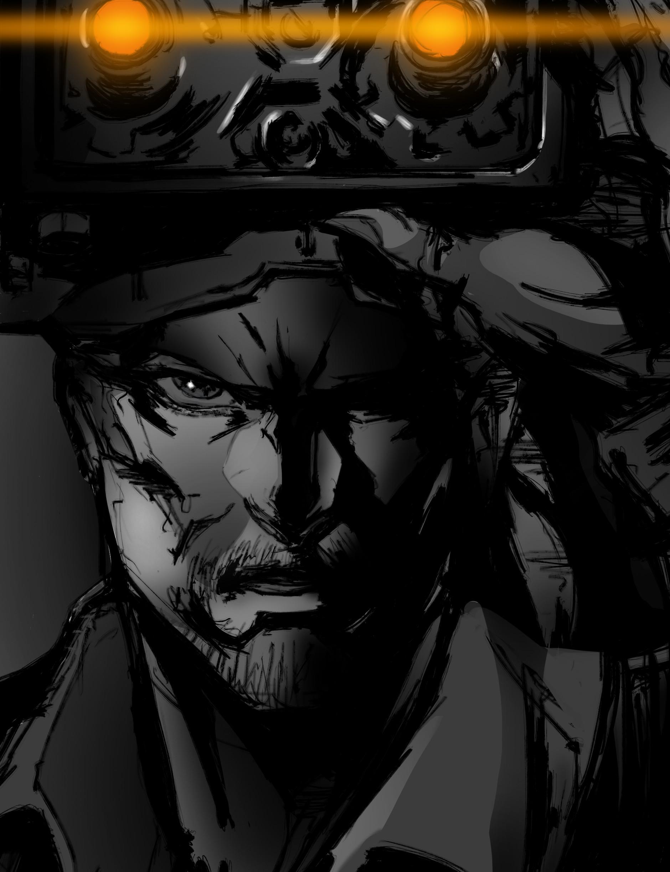 Vitor Hugo Watson Trajano David Hayter As Solid Snake Artwork