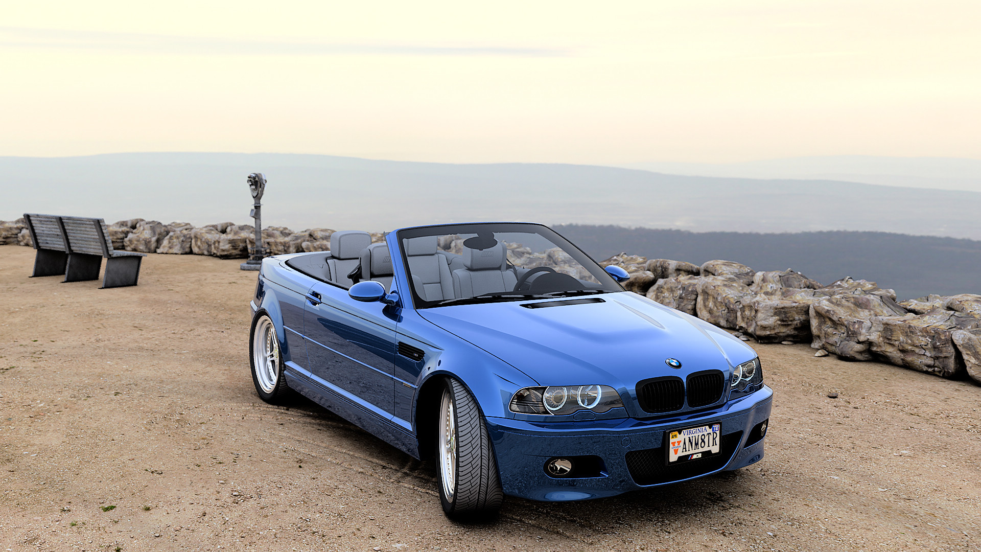 Artstation My E46 M3 Convertible Troy Benesch