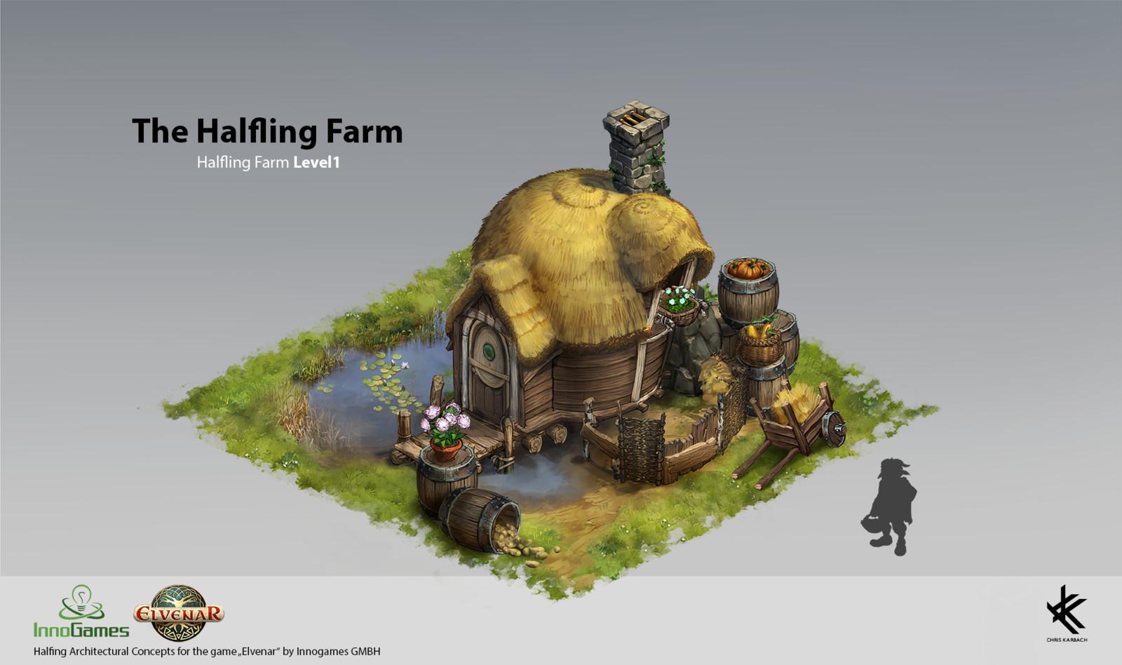 Halfling Farm Level 1