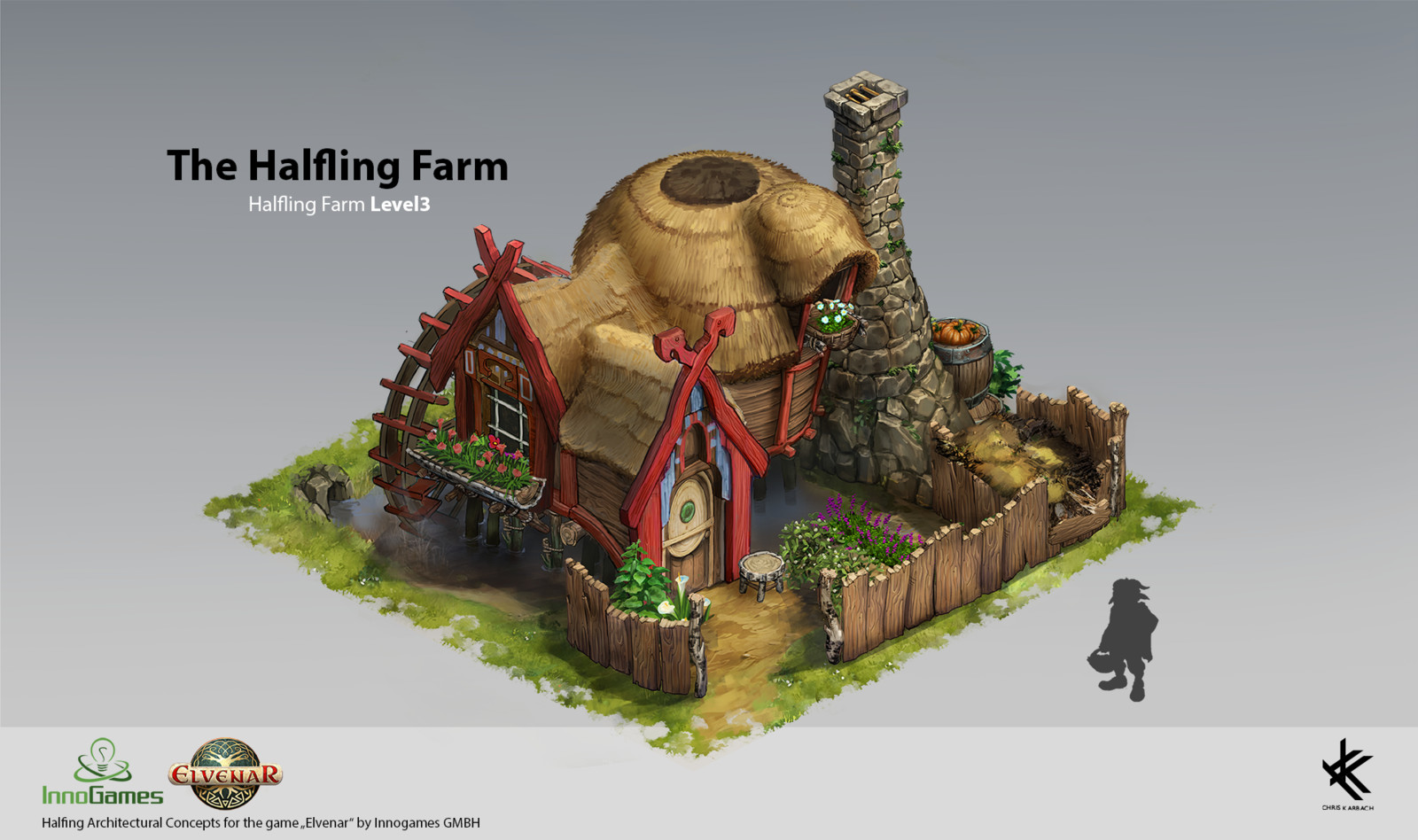 Halfling Farm Level 3