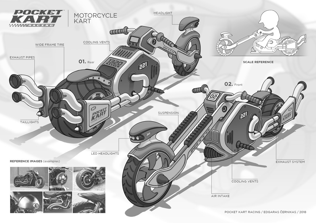 Edgaras cernikas pocket kart motorcycle kart final design 1100x778