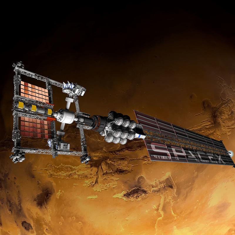 Space X Mars Express