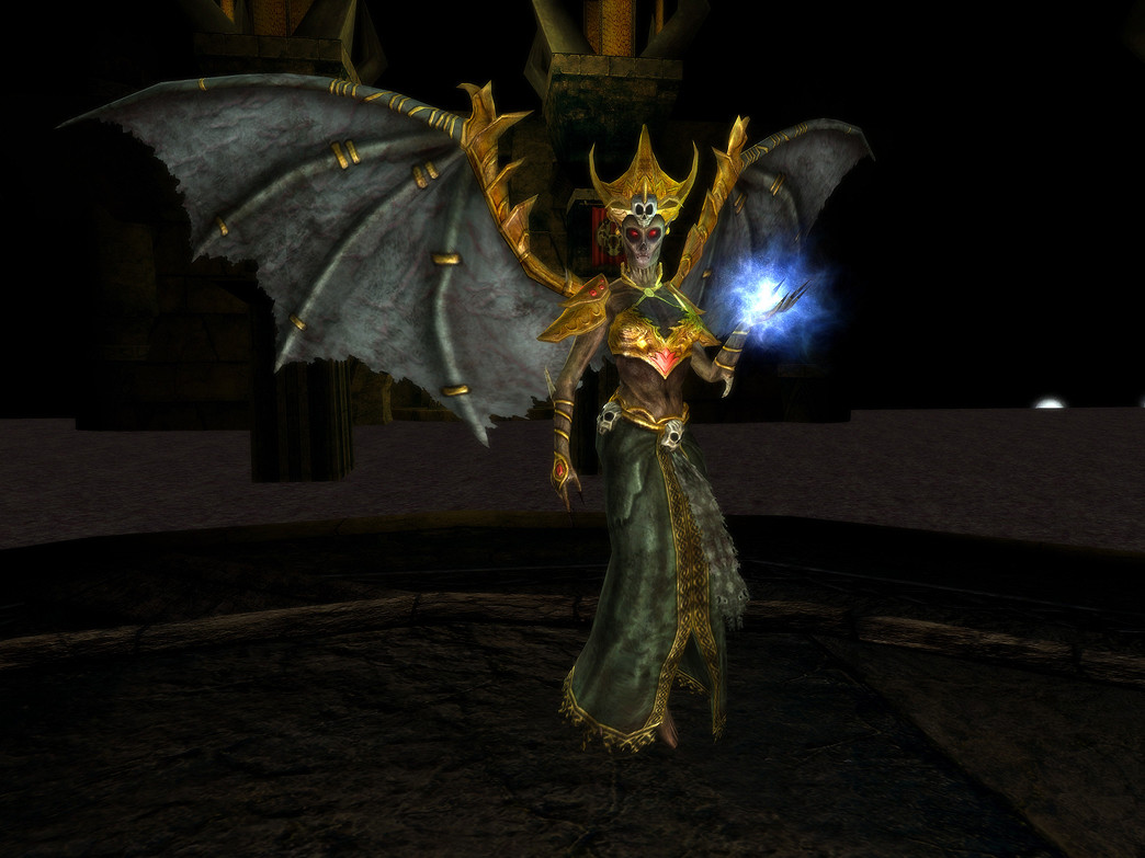 Rendered in game using the Dungeons and Dragons Online Engine