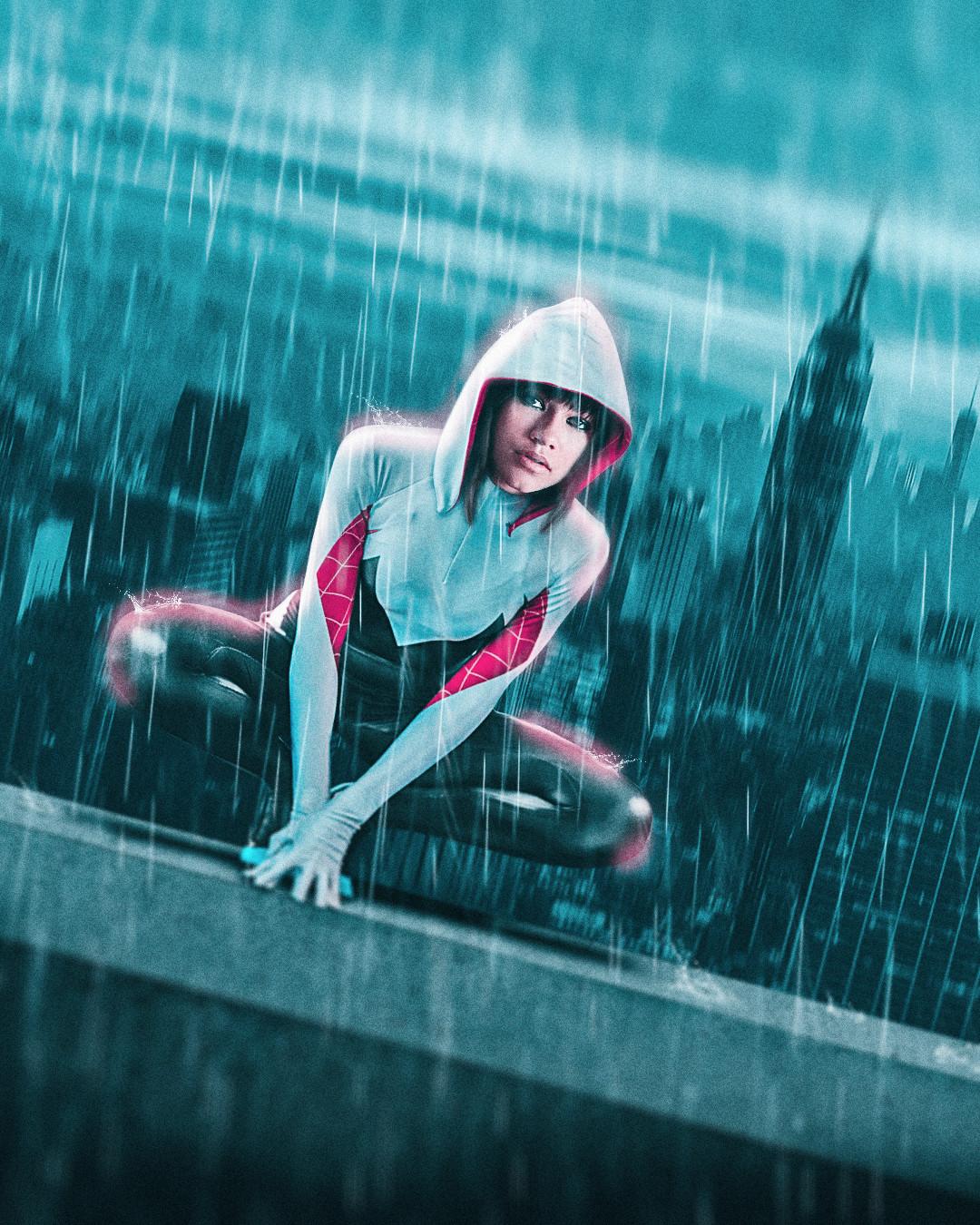 Zendaya x Spider-Gwen