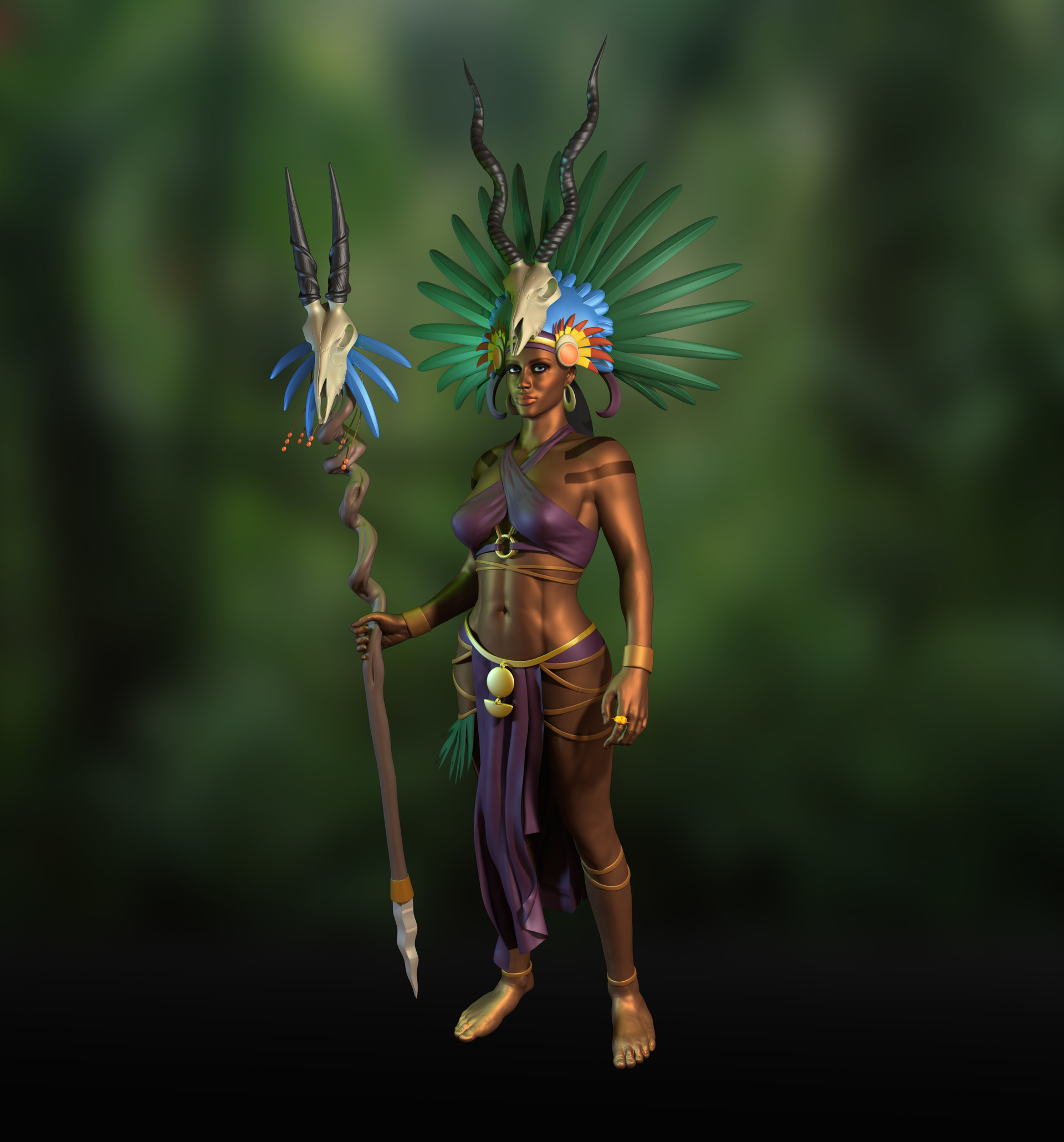 Soo ling lyle tassell voodoo shaman