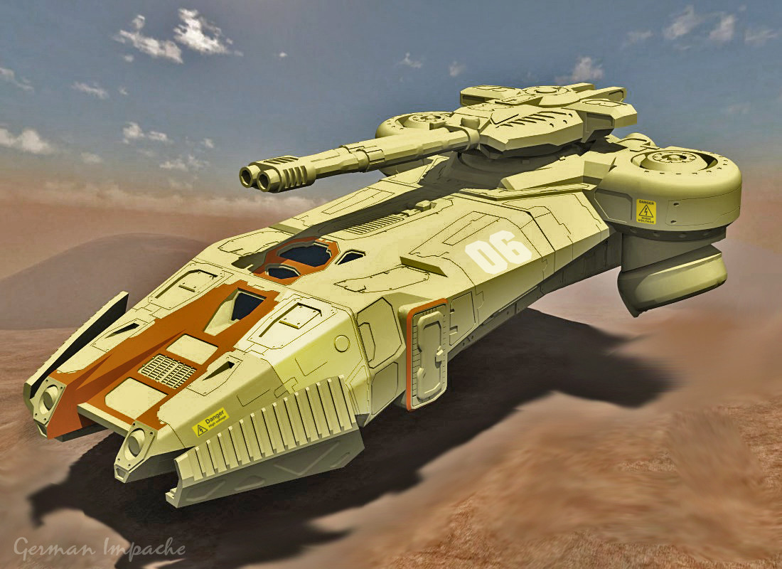 """""""GRISO"""" Hovertank"""