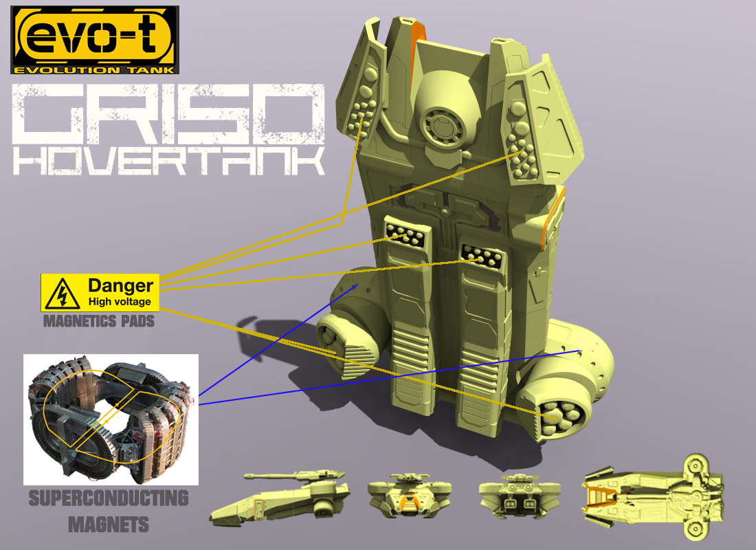 """GRISO"" Hovertank"