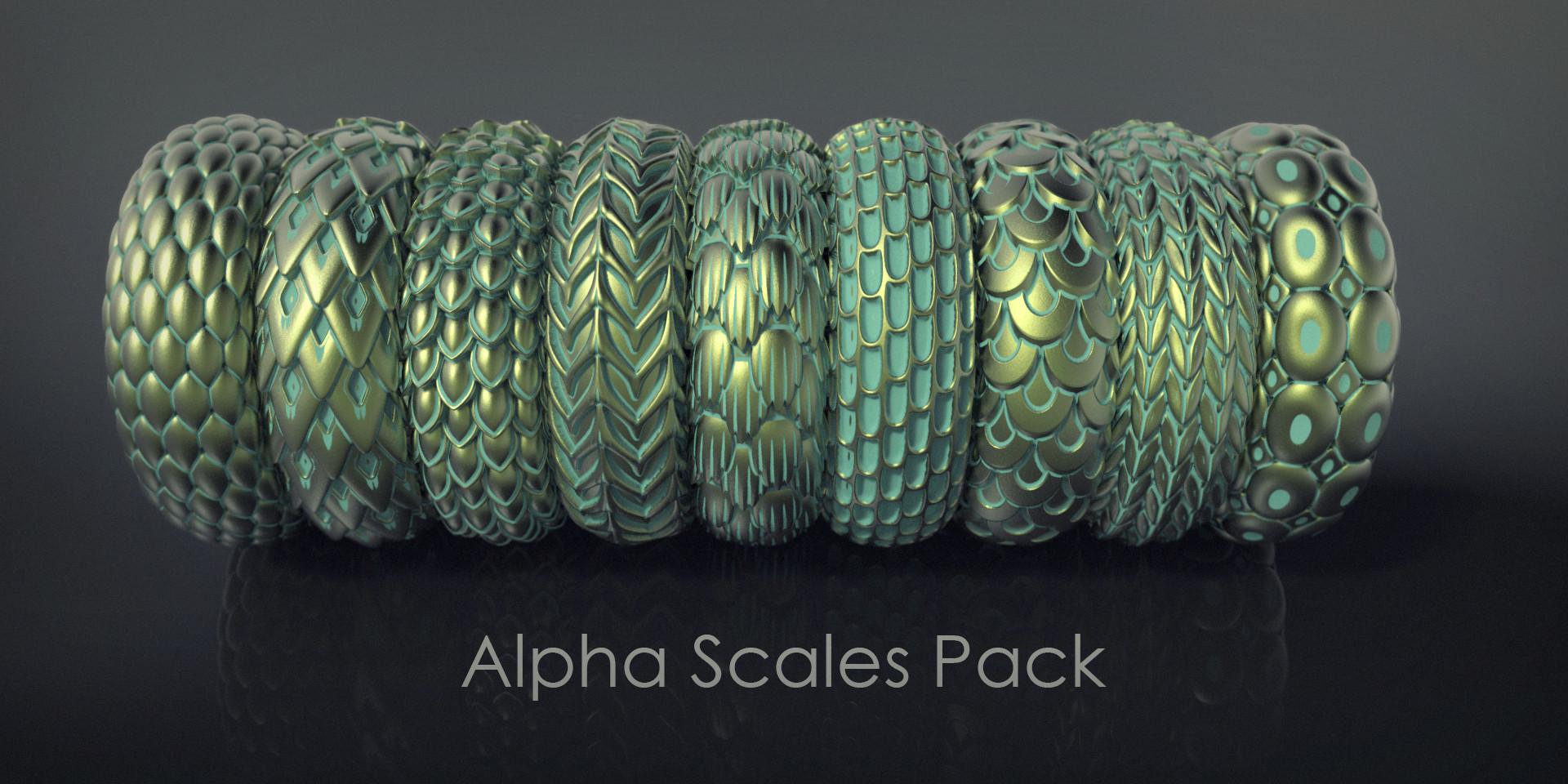 Nacho riesco gostanza alpha scales pack3