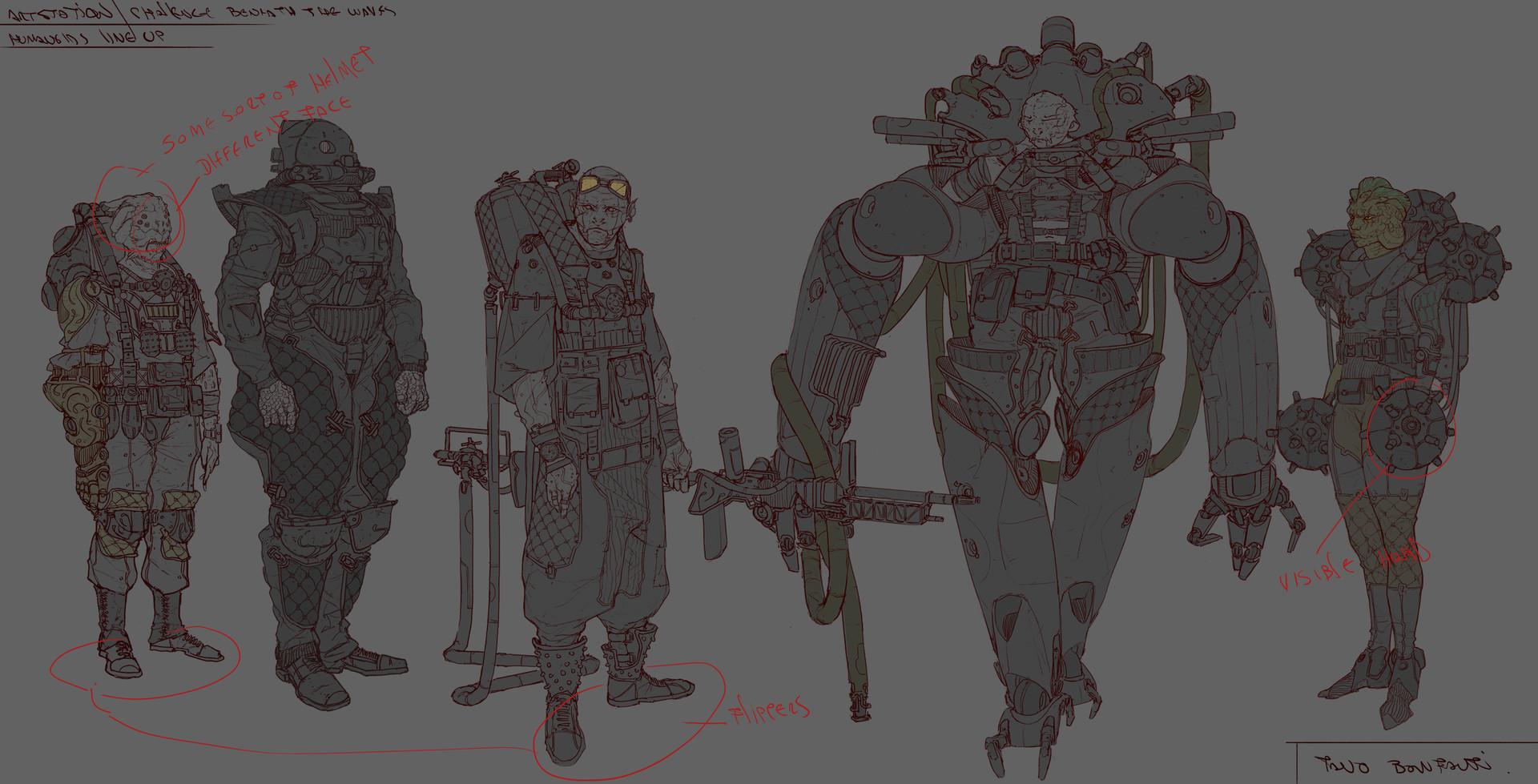 Tano bonfanti line up test humanoids1