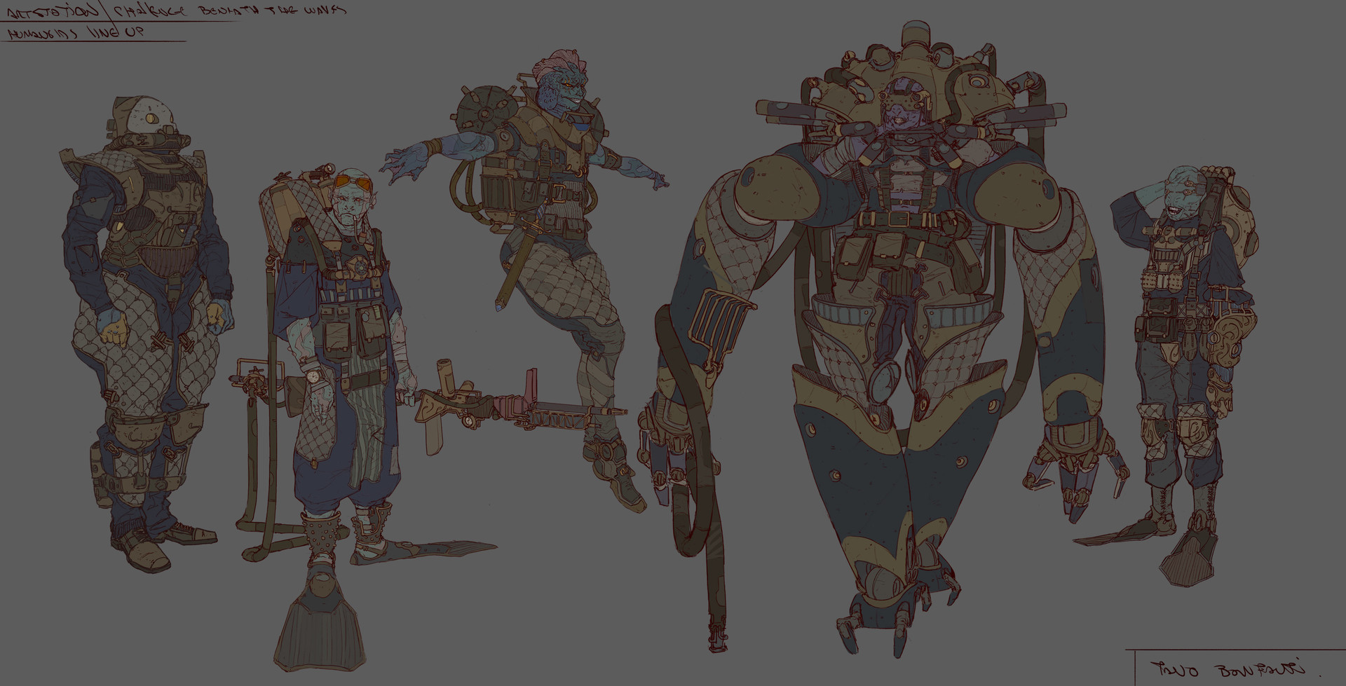 Tano bonfanti line up test humanoids2
