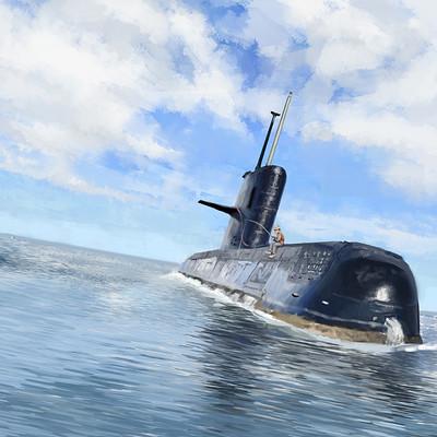 Dmytro veseliy submarine 5