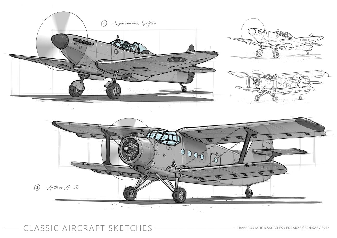 Edgaras cernikas supermarine spitfire antonov an 2 1400x990