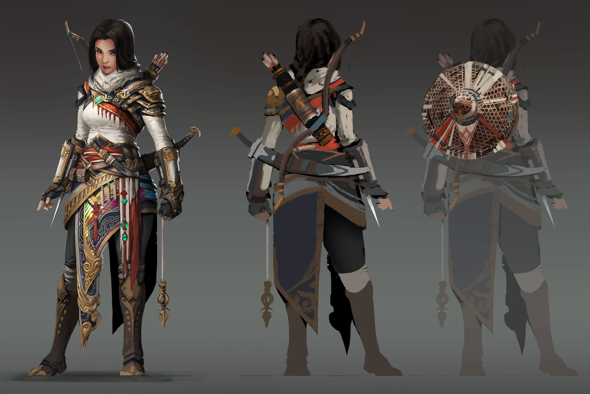 Artstation Assassin S Creed Fan Art Design Gao Xu
