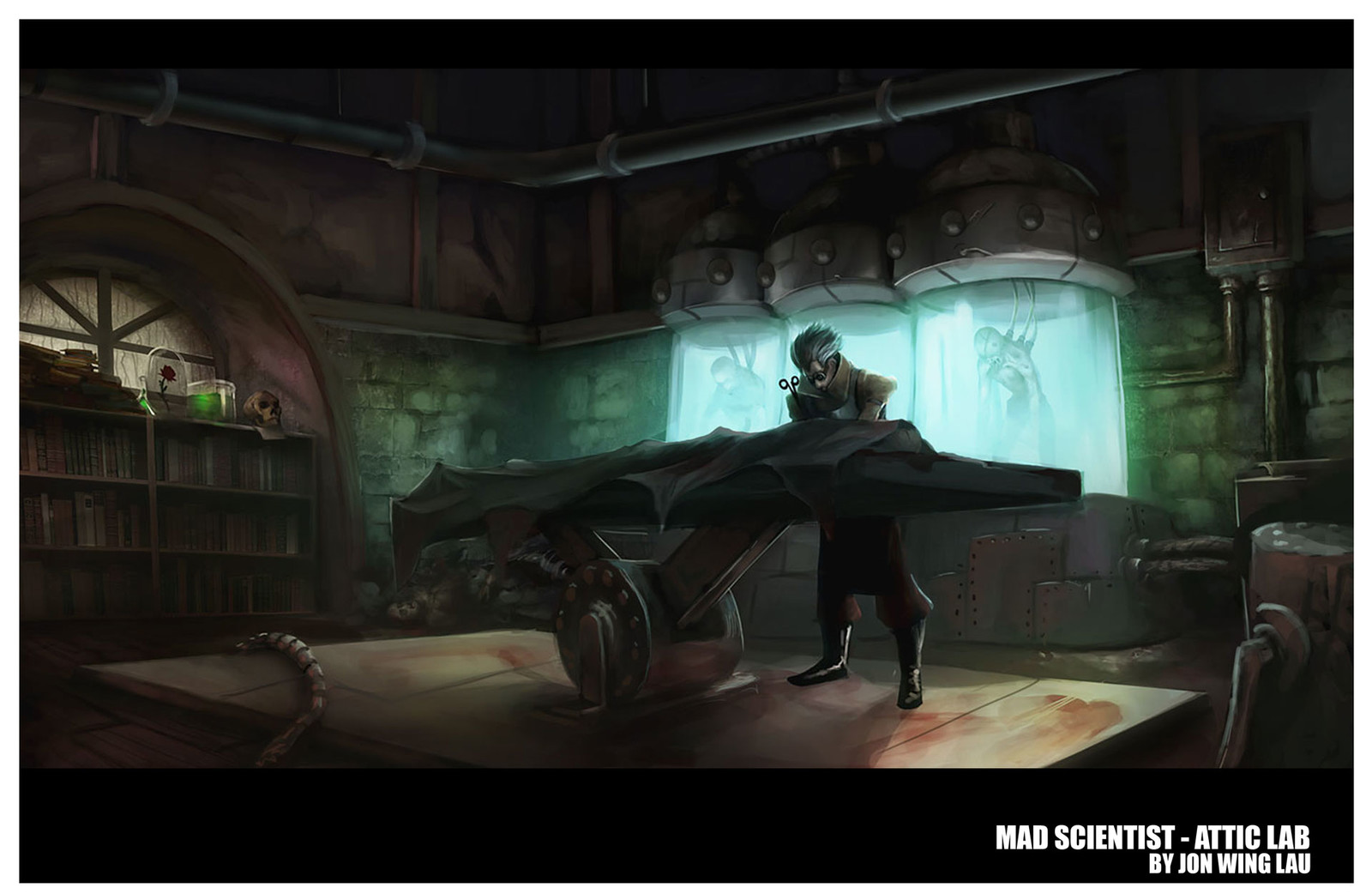 Mad Scientist - Attic Lab