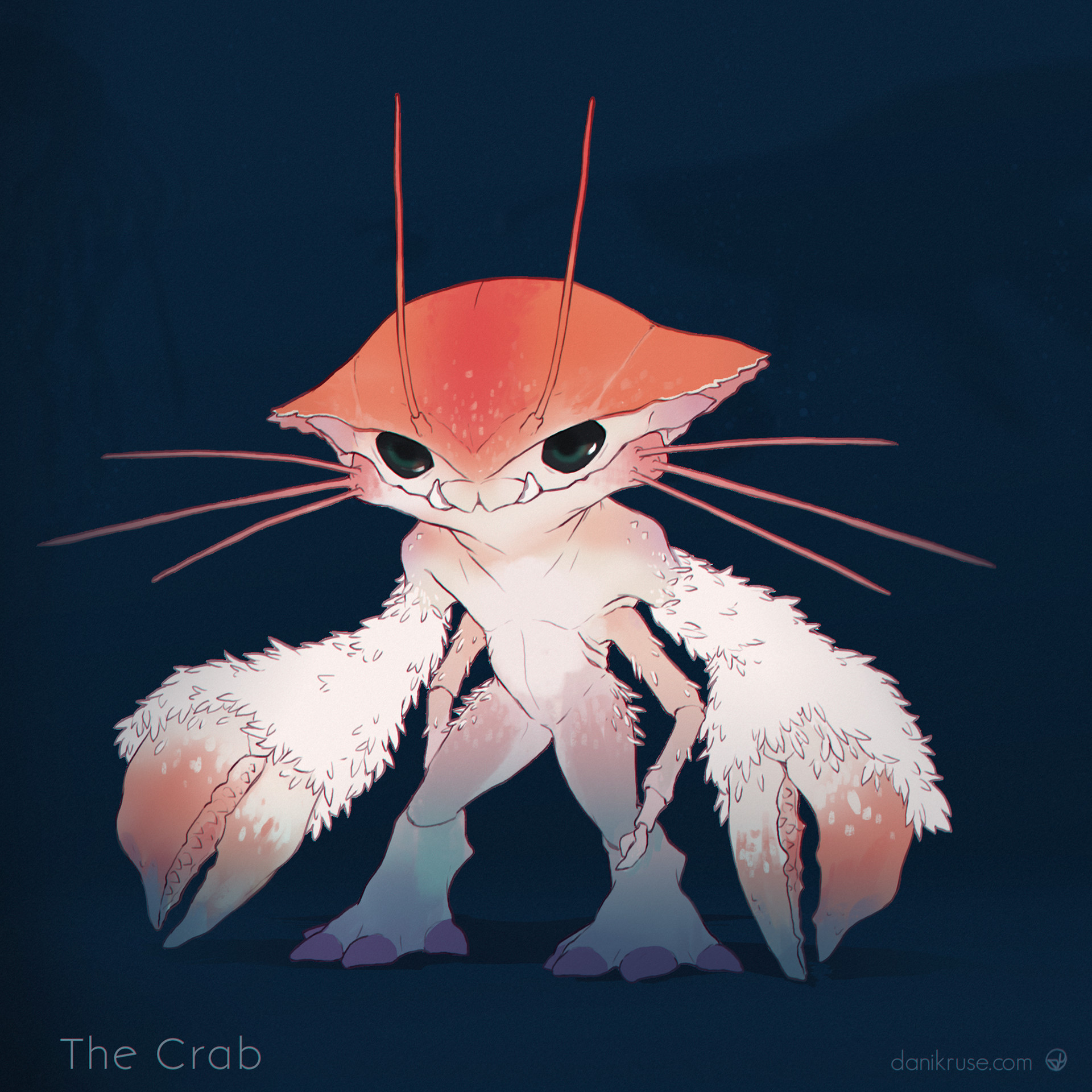 Dani kruse btw the crab